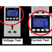 Wholesale Pocket voltage Plug in Power Monitor LCD display White for industry from china suppliers