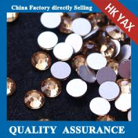 Wholesale non hot fix stone flat back,topaz flat back non hot fix stone,non hotfix crystal stone from china suppliers