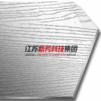Buy cheap Short Line Crystal Embossed Stainless Steel Press Plate 3-6mm Thickness from wholesalers