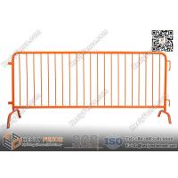Wholesale Steel Crowd Barricade with Safety Orange Powder Coat | 1.1m X 2.3m from china suppliers