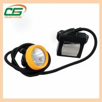 Buy cheap 15000lux 6.6ah Li-Ion Battery Waterproof Led Industry Corded Mining Cap Lamp from wholesalers