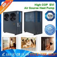 Wholesale 380v High COP EVI Scroll Compressor Low Ambient Heat Pump With Galvanized Steel Cabinet from china suppliers