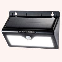 Quality Super Brightest Pure white Solar Motion Sensor LED Light Outdoor 3 Intelligent Mode for sale