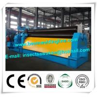Quality CNC Hydraulic bending machine steel plate shearing machine , Steel rolling machine for sale