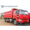 Buy cheap FAW Jiefang 6x4  Dump Garbage Trucks 3 Axles 30 ton 40 ton capacity from wholesalers