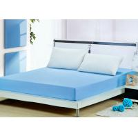 Wholesale Polyester Blue Fire Resistant Mattress Cover Full Size Lightweight from china suppliers