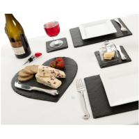 Buy cheap Heart shaped slate  cheese board from wholesalers
