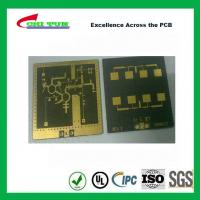 Wholesale 3 Layer TLY-9+HT1.5 SOFT GOLD Smt PCB Assembly Service with Black Solder from china suppliers