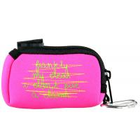 Wholesale Pink or Custom Waterproof zipper Small Cosmetic Neoprene Pouches Bags 9(L)cm X 6(W) cm from china suppliers