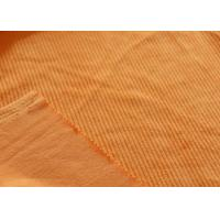 Wholesale Orange Soft Minky Fabric 100% Polyester Material Tear - Resistant from china suppliers