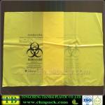 Custom Yellow Autoclave Medical Garbage Bag