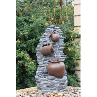 Wholesale Customize Size Contemporary Outdoor Patio Water Fountains With Lights from china suppliers