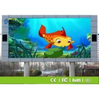 Wholesale Black / Gray / Silver Shell P10 Outdoor LED Display , LED Video Wall Rental For School from china suppliers