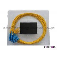 Wholesale 1x16 ABS Box PLC Splitter , FTTH Optical Fiber Splitter With SC Fiber Optic Connector from china suppliers