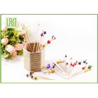 Wholesale Disposable Wooden Heart Toothpicks Novelty Cocktail Sticks 10000pcs Per Carton from china suppliers