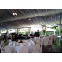 Wholesale Luxury Decorated Temporary Wedding Party Tent With Lining For 300 People from china suppliers