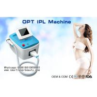 Buy cheap Portable SHR IPL Hair Removal Machine / OPT IPL Photo Rejuvenation System from wholesalers