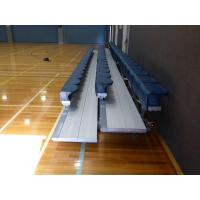 Buy cheap Mobile Portable Aluminum Bleachers For Locker Rooms / Sidelines from wholesalers