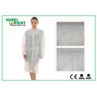 Wholesale Hospital Surgical Lab Coats / White Lab Coat For Women , MP Tyvek Materials from china suppliers