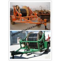 Cable Pulleys For Sale : Cable reel trailer pulley carrier of item