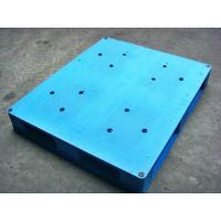Quality Welded / Integrated Solid Face Plastic Euro Pallets For Food Storage for sale