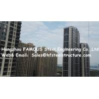 Wholesale Sandwich Panel / Galvanized C/Z Purlin Multi-Storey Steel Building Easy Installation from china suppliers