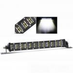 Jeep Dual Row Led Light Bar , Led Forklift Lights 8 Degree Spot Beam