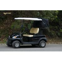 Wholesale Soft Leather Seat Electric Street Legal Golf Cart After The Double Drive And Cover from china suppliers