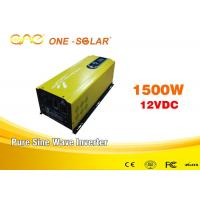 Wholesale Off Grid Pure Sine Wave Inverter 1500w For Mobile AC Power Car from china suppliers