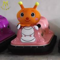 China Hansel battery ame machine rides on toy  for kids fairground bumper car for sale on sale