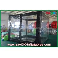 Wholesale Custom Black Inflatable Air Tent For Promotion Or Commercial Advertising from china suppliers