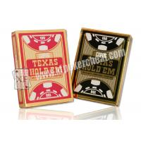 Wholesale Poker Props Copag Texas Hold'em Jumbo Index Plastic Playing Cards from china suppliers