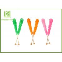 Wholesale Fashion Rock Candy Swizzle Sticks , Bamboo Lollipop Sticks Bulk Placking from china suppliers