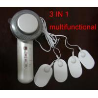 Wholesale 3 function 1M Hz ultrasonic+infrared+EMS Electric massage body massager relief back pain from china suppliers