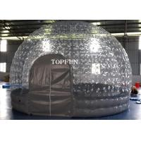 Wholesale 1.0 Mm PVC Transparent Inflatable Air Tent  5m Diameter CE Approval from china suppliers
