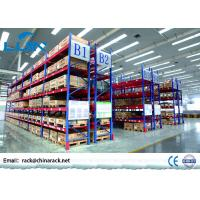 Wholesale Durable Heavy Duty Storage Racks / Pallet Shelving Systems 100-3000KG / Layer from china suppliers