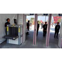 Wholesale 50 / 60Hz Door Frame Walkthrough Metal Detector With Alarm and Pass Count IP65 from china suppliers