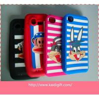 Wholesale Eco-Friendly Silicone Cell Phone Cases Colorful With Cartoon Style from china suppliers