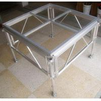 Wholesale Glass Acrylic Stage Platform / Folding Aluminum Stage Platform from china suppliers