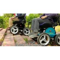 Buy cheap 24V lithium batteries foldable power wheelchair from wholesalers