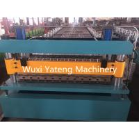 Wholesale PPGI Roofing Corrugated Sheet Roll Forming Machine 18 - 26Stations 235Mpa Yield Strength from china suppliers