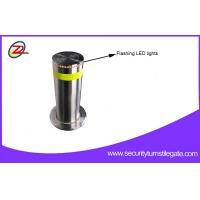 Wholesale Rugged Automatic Retractable Security Bollards / Hydraulic Rising Bollards For Bank from china suppliers