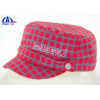 Wholesale 100% Cotton Woven Military Baseball Caps and Hats With Allover Printing Logo from china suppliers
