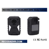 Wholesale IP65 5MP CMOS 4G / 3G WIFI Police Wearing Body Cameras With GPS Tracking from china suppliers