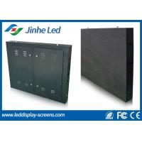 Wholesale Waterproof P10 Outdoor Full Color LED Display Module Iron Cabinet from china suppliers