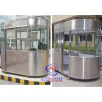 Wholesale Outdoor Fibreglass Ticket Security Guard Booths / Mobile guard house from china suppliers