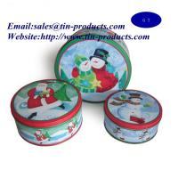 Wholesale Christmas Tins , Christmas Tin ,metal Christmas box from china suppliers