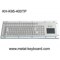 Wholesale Water Proof Stainless Steel 95 Keys Metal Industrial Keyboard Layout Customizable from china suppliers