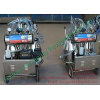Wholesale Small Dairy Farm Machinery Cow Mobile Milking Machine Automatic Milking from china suppliers