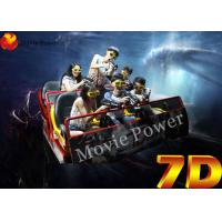 Wholesale Multiplayer 9 Seat 7D Simulator Cinema 7D Movie Theater 2.25KW 220V from china suppliers